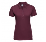 JZ566F.08.0 - 566F•Ladies` Fitted Stretch Polo